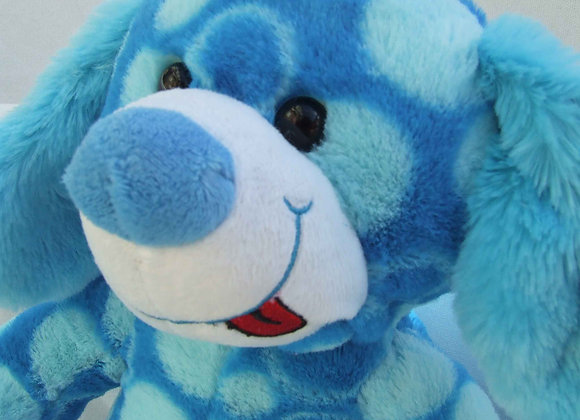 "16"" Bright Blue Pup - Create a Cuddly"