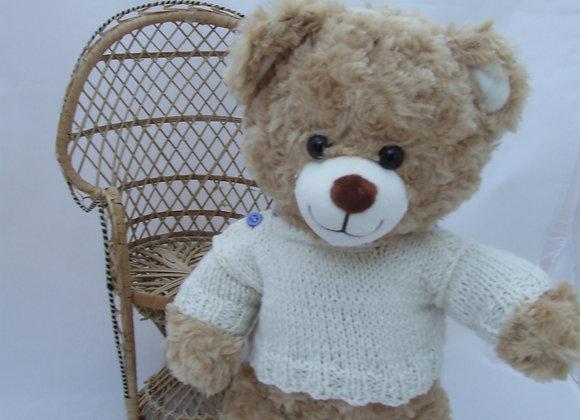"""Oscar JumperKnitting Pattern for 16"""" Bears"""