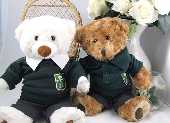 RECYCLED 2 piece school bear uniform