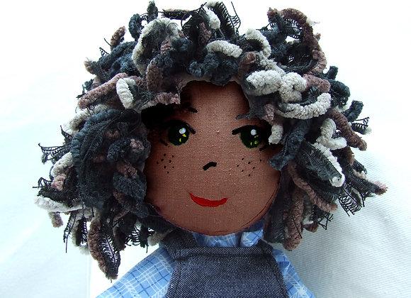 SELFIE dread boy rag doll