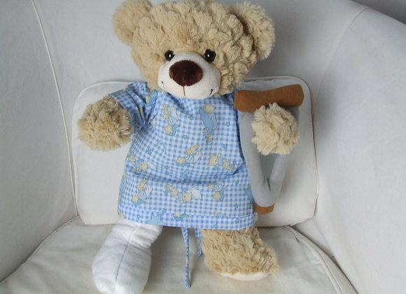 Get Well Soon GIFT BEAR broken leg