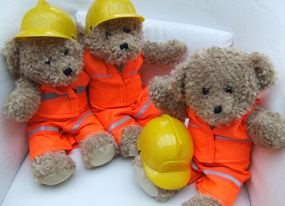 My London Bear - Construction Bear