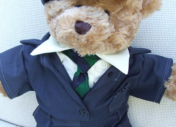 My London Bear -Mechanic Overall Bear