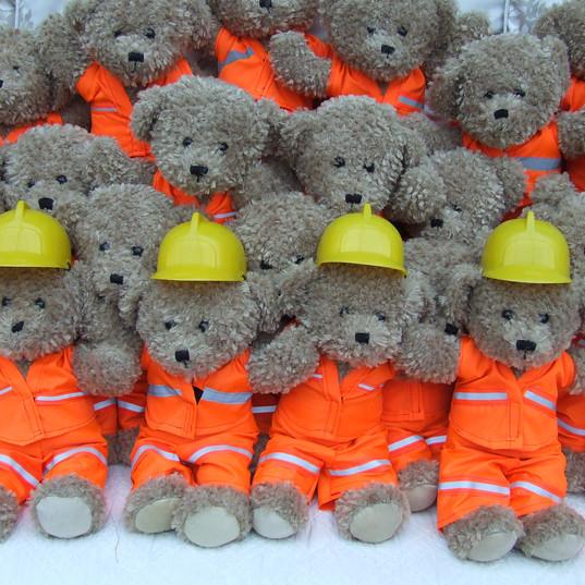 London underground workers