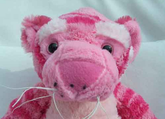"16""Pink Tiger - Create a Cuddly"