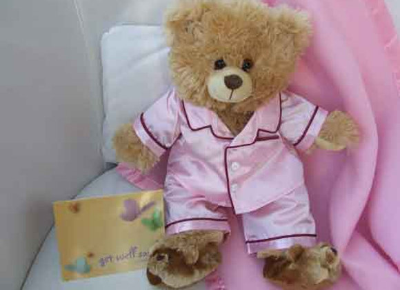 Get Well Soon GIFT BEAR pink
