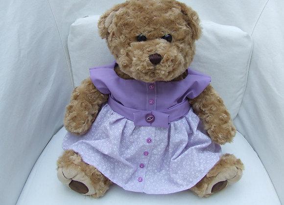 DRESS in lilac set