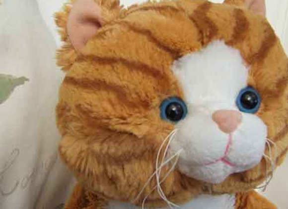 "16"" Ginger Cat - Create a Cuddly"