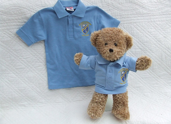 RECYCLED 1 piece school bear uniform