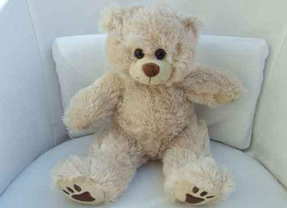 """super soft scruffy 16"""" bear"""