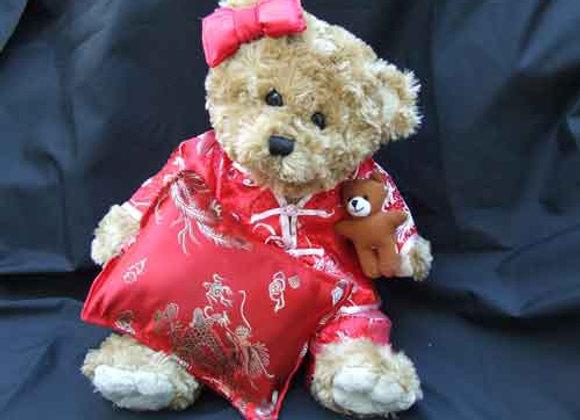 Bedtime Bear BEAR GIFT RED