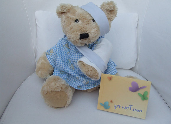 Get Well Soon GIFT BEAR broken arm