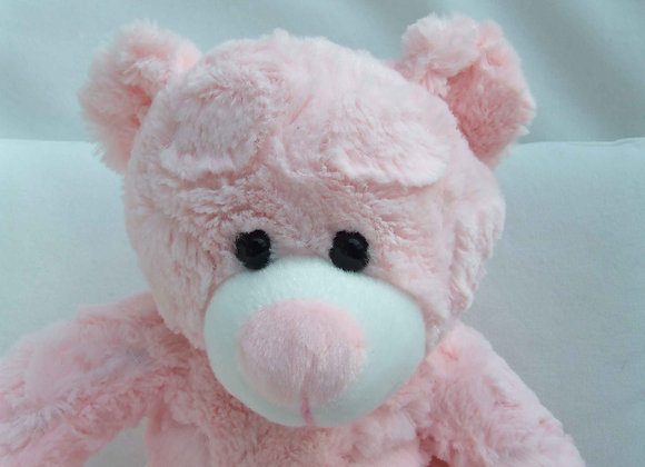 "Create a Cuddly super soft pink 16"" bear"