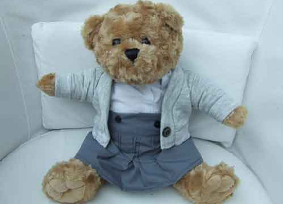 My School Bear girl 3 piece uniform. All school colours available