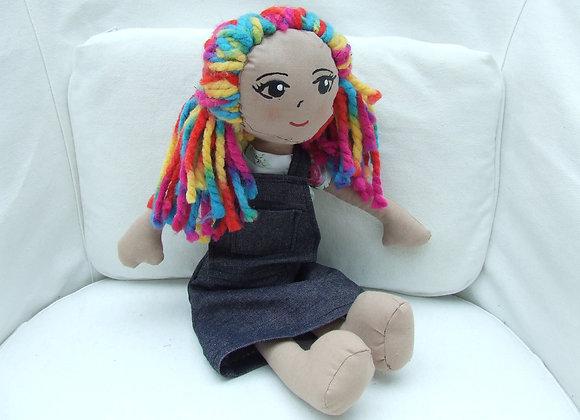 SELFIE rainbow girl