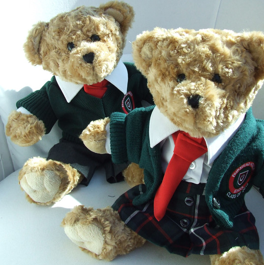 bear recycled school uniforms.JPG