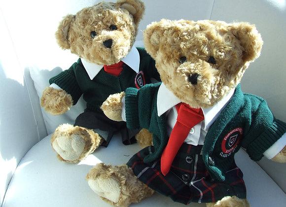 RECYCLED 4 piece school bear uniform