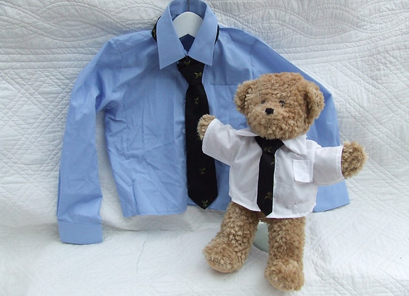 RECYCLED SHIRT AND TIE SET