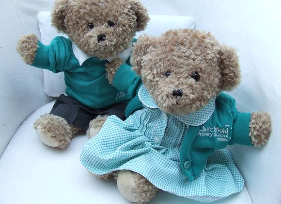 RECYCLED 3 piece school bear uniform