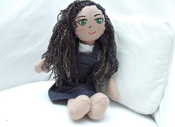 SELFIE brunette doll