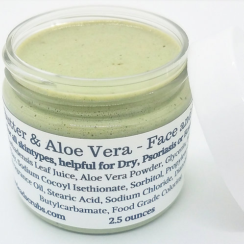 Hemp Butter & Aloe Vera - Face+Body Mask