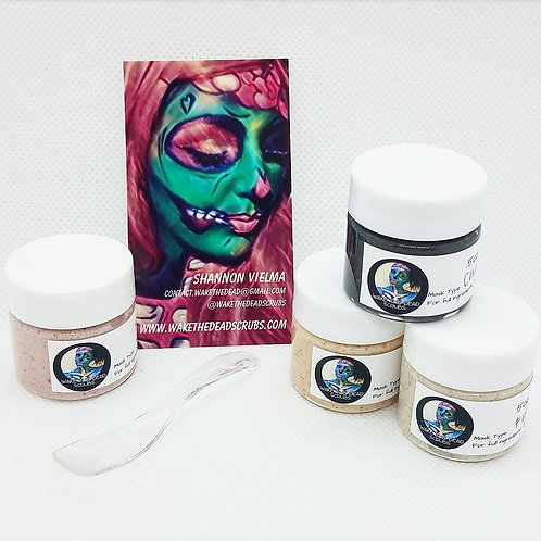 4pc Mask Sampler