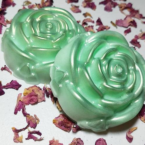 Cannabis Rose Shea Butter Soap