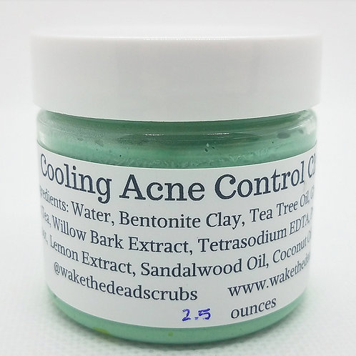 Cooling Acne Control Clay Mask