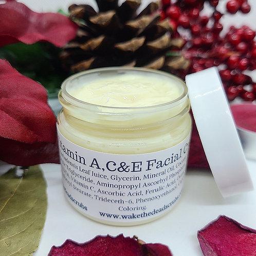 Vitamin A,C & E Facial Cream