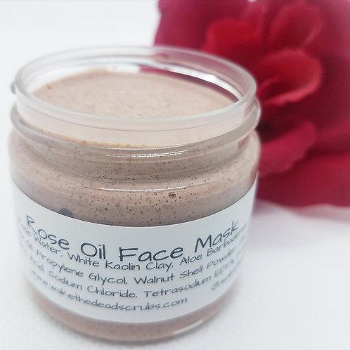 Rose Oil Face Mask