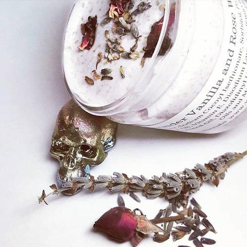 Calming Lavender Vanilla & Rose Whipped Body Scrub