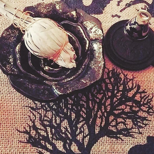"""""""Inside the Casket"""" Witchy Mystery Tote"""