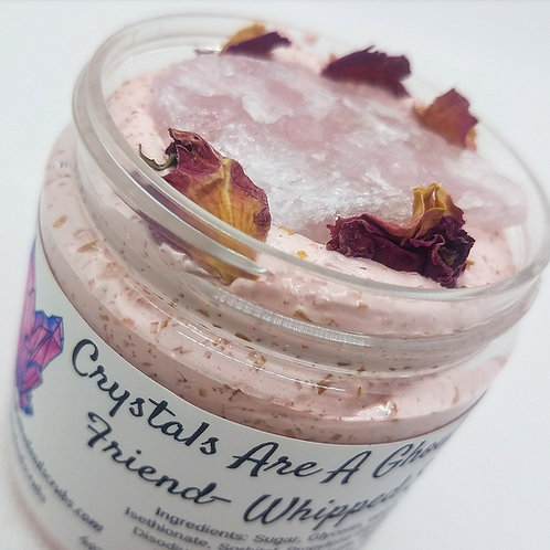 Crystals Are A Ghouls Best Friend whipped scrub