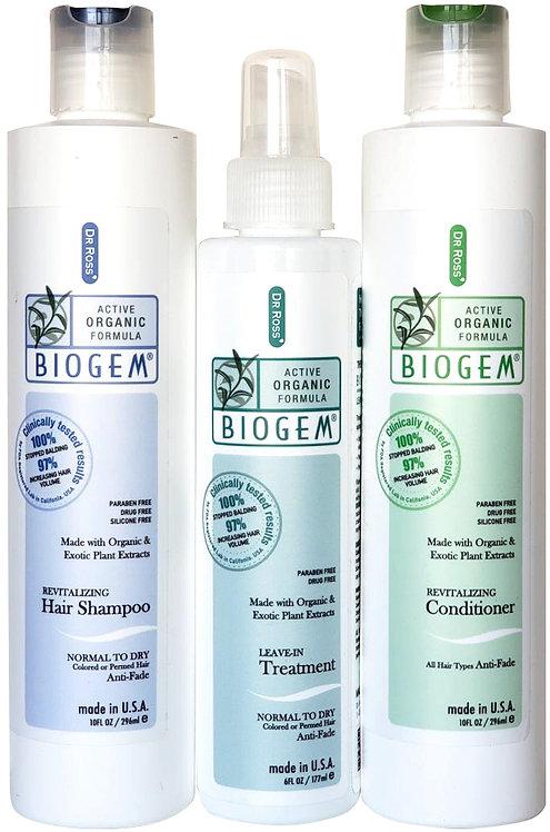 Biogem 3 Set For Dry to Normal Hair