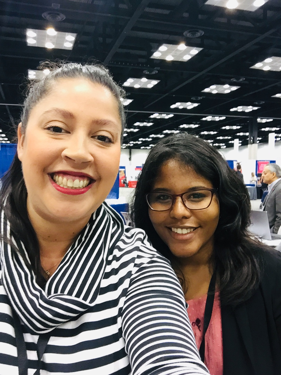 Catching up with Natalia at ABRCMS