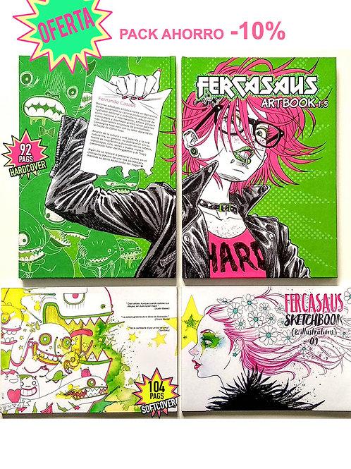 PACK Artbook + Sketchbook