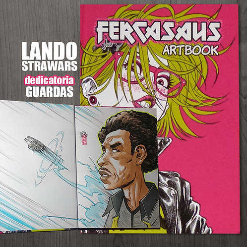 ARTBOOK 1.0 - Dedicatoria LANDO Starwars