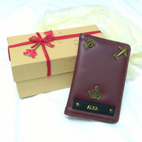 Passport Cover Travel accessory Gift for