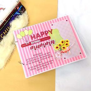 Birthday Album for Mom | Gift For Mom -