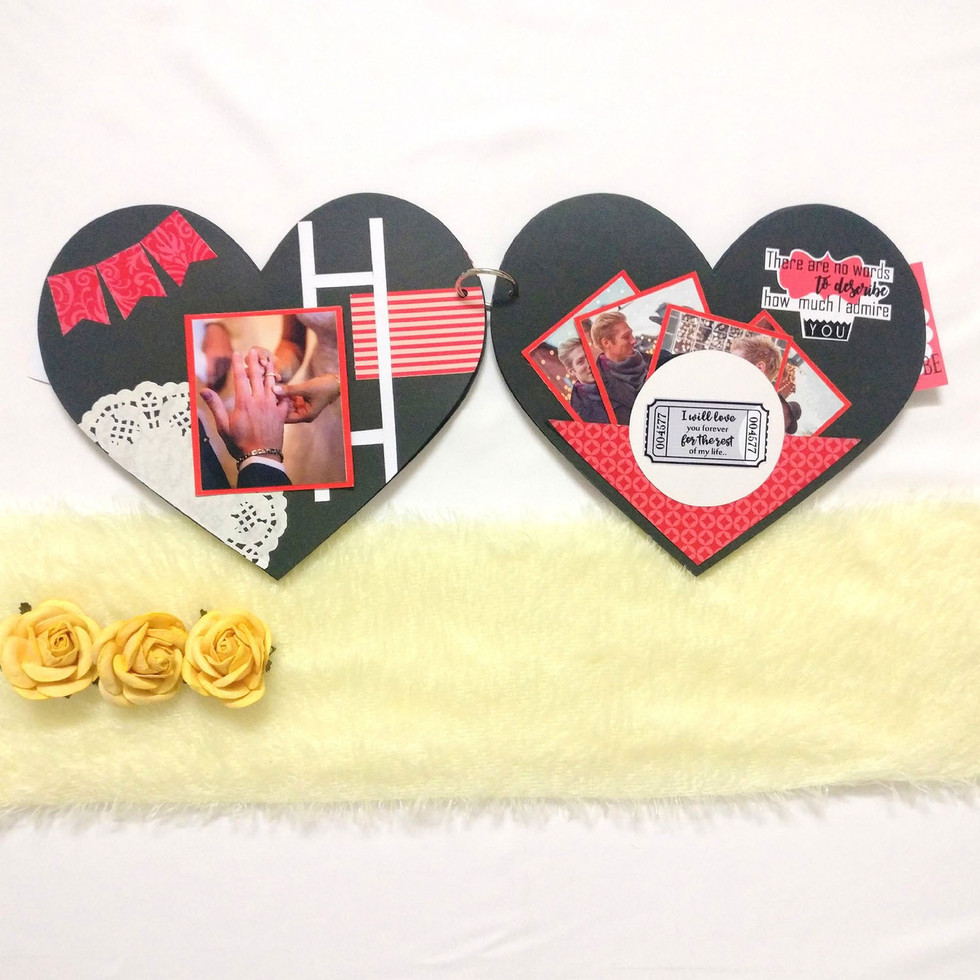 heart album anniversary gifts The I Made