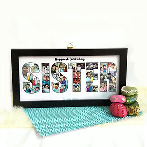Personalised Photo Frame the i made it s