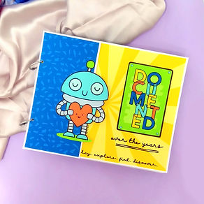 Kids Scrapbook - IMadeIt