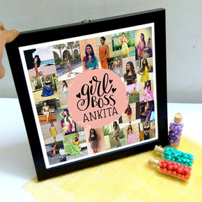 Girl Boss birthday gifts anniversary gif