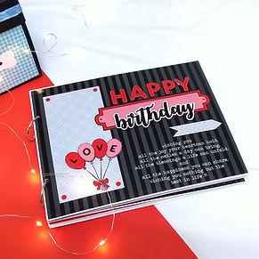 Birthday Album for Husband, Wife, Girlfr