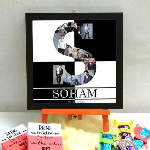 alphabet frame birthday gifts The I Made