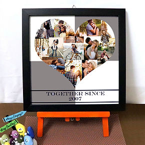 Personalised Photo Frame Anniversary gif