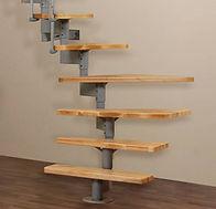Segmentové schody - Modulové schody