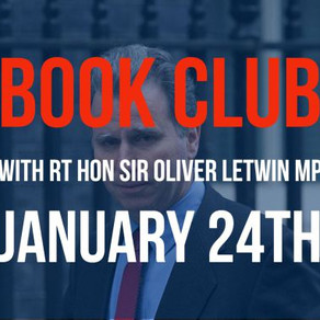 24 January 2018: Book club with Sir Oliver Letwin MP