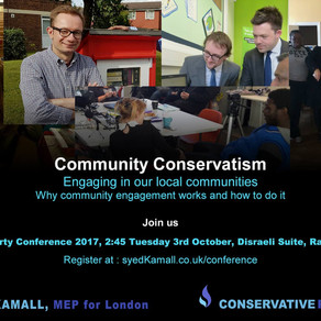 3 October 2017: Community Conservatism