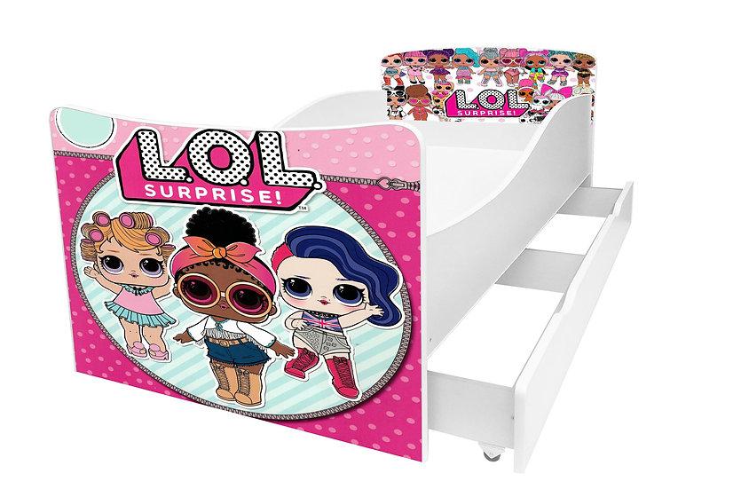 Кровать для ребенка с Лол